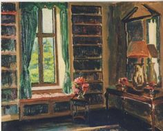 """""""Drawing Room at Chartwell,"""" by Winston Churchill"""