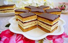 prajitura-dungata-10 Romanian Desserts, Romanian Food, Sweets Recipes, Cake Recipes, Cooking Recipes, Hungarian Recipes, Food Cakes, Cake Cookies, Sweet Treats