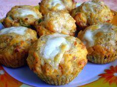 Pizzové muffiny - NajRecept.sk