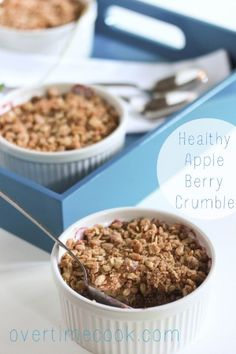 10 Luscious Summer Fruit Crumbles and Cobblers