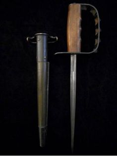 US WW1/WW2 1917/1918 L F & C Trench Knife -Old Combat Collection -LF&C Knuckle