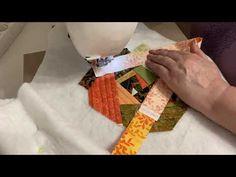 Душегрейка. Лоскутная жилетка своими руками. Крейзи квилт. Стежка. Пристраиваем лоскутки. #печворк - YouTube