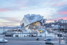 """""""This Museum Cannot Kill People"""": Wolf Prix on the Creation of the Musée des Confluences in Lyon - Architizer Museum Architecture, Futuristic Architecture, Amazing Architecture, Contemporary Architecture, Architecture Design, Architecture Definition, Zaha Hadid, Rem Koolhaas, Kengo Kuma"""