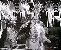 Photo of Folies Bergere Showgirls from the Tropicana Hotel in Las Vegas