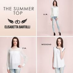 The Summer top - #Blouse With #Embellished #Collar, Sheer and block diamond #neck top & Cross Pleate #Top