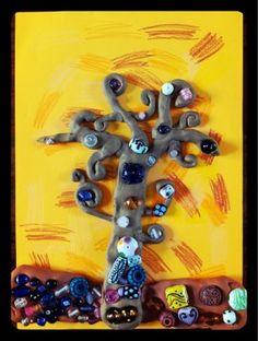 Klimt inspired Tree of Life art for kids Art Activities For Kids, Preschool Art, Art For Kids, Arte Elemental, Primary School Art, Klimt Art, Artist Project, Ecole Art, School Art Projects