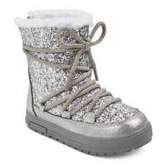 Toddler Girls' Viveca Fashion Boots - Silver