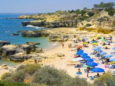 Praia do Evaristo. Algarve, Portugal