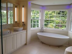 Two Ashton & Bentley baths in one house, how lucky can you be.  The Olympia in this fab bathroom.