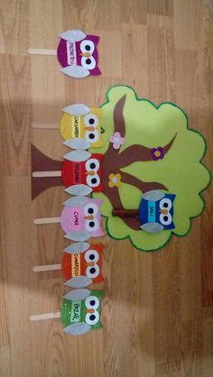 Tradition Tutorial and Ideas Craft Activities For Kids, Preschool Crafts, Crafts For Kids, Diy Crafts, Owl Classroom Decor, Numbers Kindergarten, Mothers Day Crafts, Nail Tutorials, Pre School
