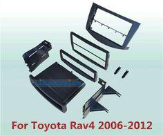 81.00$  Buy here - http://aliun6.worldwells.pw/go.php?t=32292507809 - 2 Din Car Frame Dash Kit / Car Fascias / Mount Bracket Panel For Toyota RAV4 2006 2007 2008 2009 2010 2011 2012 81.00$
