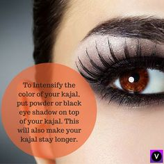 Time to let your makeup speak for itself. #longlastingkajal #eyemakeuptip #eyespeak