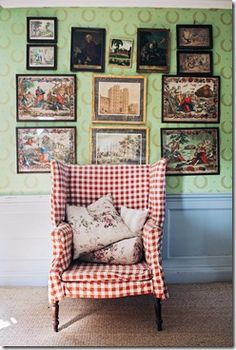 country English chair