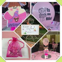 Baby shower es niña!