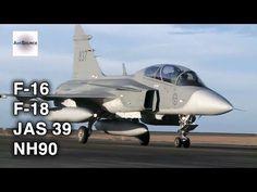 Norwegian F-16, Finnish F-18, Swedish JAS 39, Finish NH90 in Action - YouTube