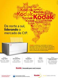 Alphaprint e Kodak lideram o mercado brasileiro de Norte a Sul com a melhor solução em CTP