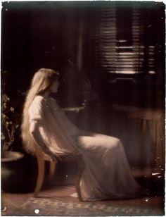 Paul Burty Haviland ~Florence Peterson,autochrome [also]