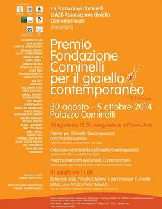 AGC associazione gioiello contemporaneo. - Cominelli awards 2014