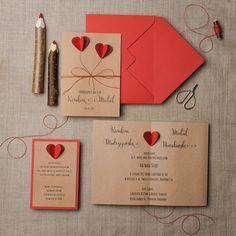 Zaproszenia ślubne sweetheart