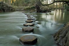 stepping stone bridge - Pesquisa Google
