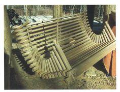 adjustable swinging deck chair