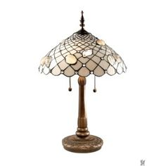 SEASHELL TIFFANY TABLE LAMP