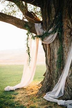 woodland wedding ideas   natural ceremony arch