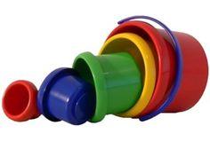 Spielstabil Babyspielzeug Stapelbecher-Set