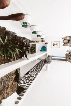 How to travel: One week in Lanzarote Interior Architecture, Interior Design, Green Palette, Butterfly House, Natural Homes, Mediterranean Homes, Earthship, Canary Islands, House Goals