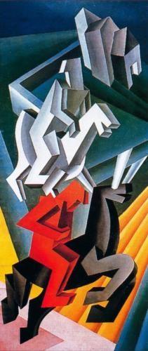 Fortunata Depero - Solidariti di Cavalieri 1927
