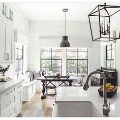 Black and white is a classic color combination that is sophisticated, chic, and timeless. It looks pretty in monochromatic rooms and as a foundation to highlight pops of color. I am especially loving