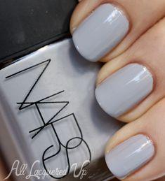 NARS Galathee nail polish swatch NARS Fury and Galathée Nail Polish for Fall 2013 Swatches & Review
