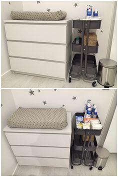 DIY. Transformando una cómoda MALM de Ikea.                                                                                                                                                     Más