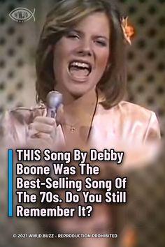 Debby Boone, Pat Boone, Keith Urban Songs, Turkey Cookies, Old Song, Barbra Streisand, Music Artists, Famous People, Joseph