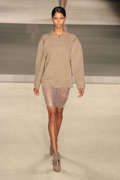 Huis Clos Brazilian designer that showed a lovely mix of sporty and sophisticated.