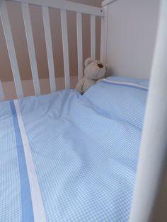 Spannbettlaken 70x140 Grau Punkte Babybettwasche