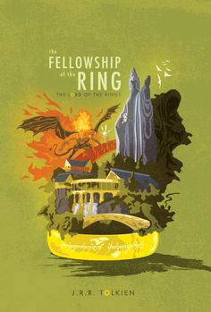 The Lord of the Rings: The Fellowship of the Ring (book cover)