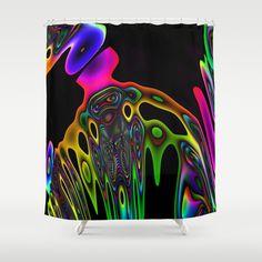 Iridescence Shower Curtain by David  Gough - $68.00
