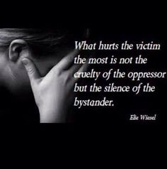 have to speak up or you an accomplist. Life Is Beautiful Quotes, Amazing Quotes, Best Quotes, Love Quotes, Inspirational Quotes, Verbal Abuse, Emotional Abuse, Rare Words, All That Matters