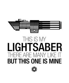 My light saber
