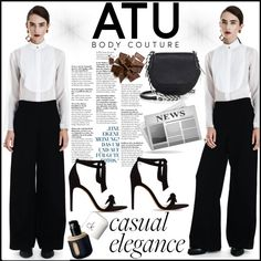 ATU BODY COUTURE by gaby-mil on Polyvore featuring Alexandre Birman, rag & bone, pants and atubodycouture Alexandre Birman, Couture, Feminine, Shoe Bag, Polyvore, Pants, Stuff To Buy, Shopping, Collection