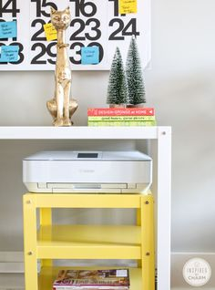 rolling cart for printer
