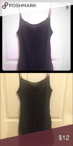 Black silky slip Black silky slip, can be worn under a dress or worn as a see through nightie. Excellent condition size small. Intimates & Sleepwear Chemises & Slips