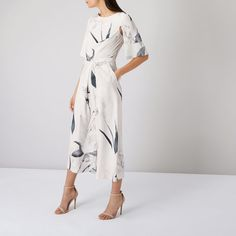 SAVANNAH PRINTED JUMPSUIT