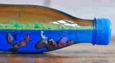 El mar en una botella