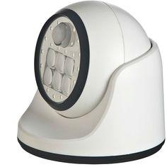 Fulcrum Motion-Sensor LED Porch Light, White - http://ajman.adzshare.com/ads/for-sale/home-furniture/home-accessories/lighting-fans/fulcrum-motion-sensor-led-porch-light-white/