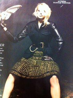 Knit skirt in Decembers In Style magazine