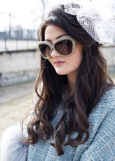 0cd254aec802 Linda Farrow Sunglasses and a