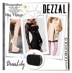 """""""Dresslily & Dezzal13"""" by gold-phoenix ❤ liked on Polyvore featuring WALL"""