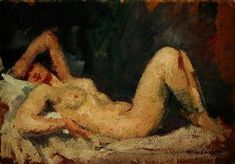 Mary Cassatt - Reclining Nude
